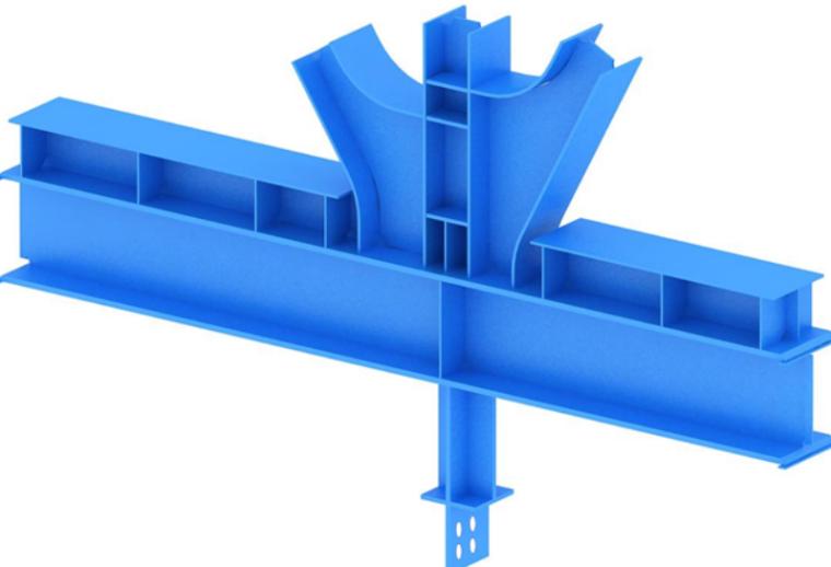 甘肃文化艺术中心场馆钢结构吊装施工方案(四层钢框架支撑+钢砼框剪结构)