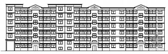 某六层节能住宅楼建筑施工图