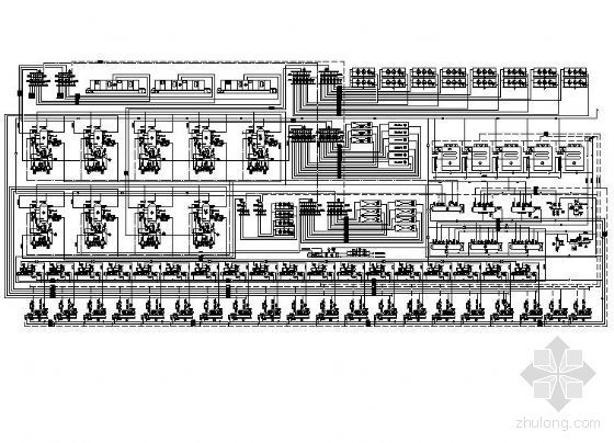 某果汁加工厂制冷原理图