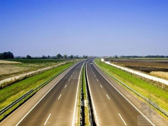 城市次干路双向四车道道路工程CAD设计图