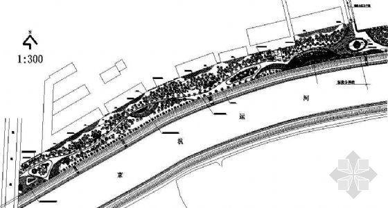 杭州城东桥段运河公园北段施工图
