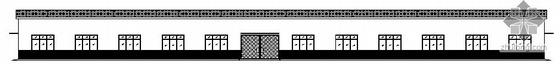 [毕业设计]某门式刚架轻型钢结构模具车间建筑结构方案图