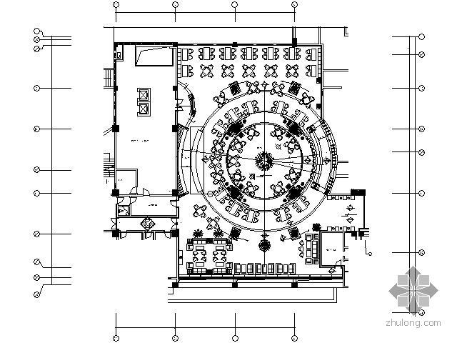 [海口]900平米西餐厅施工图