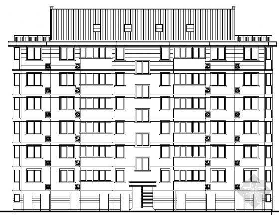 多层住宅设计图