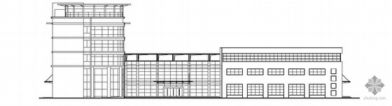 [南京]某水利局四层农机化服务中心建筑施工图