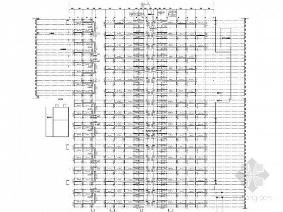 [重庆]多层丙类厂房空调通风及防排烟系统设计施工图(数码涡旋多联机)