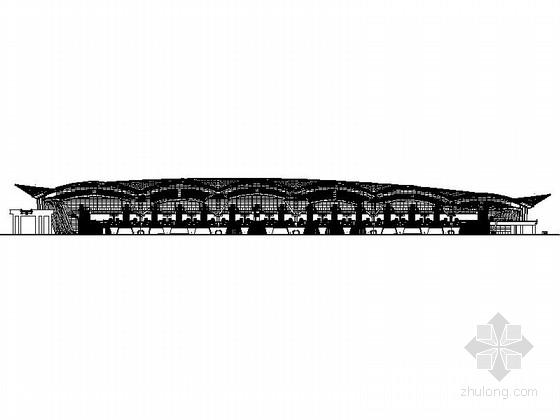 [广东]南方知名交通枢纽站建筑施工图(详细施工图 非常值得下载)