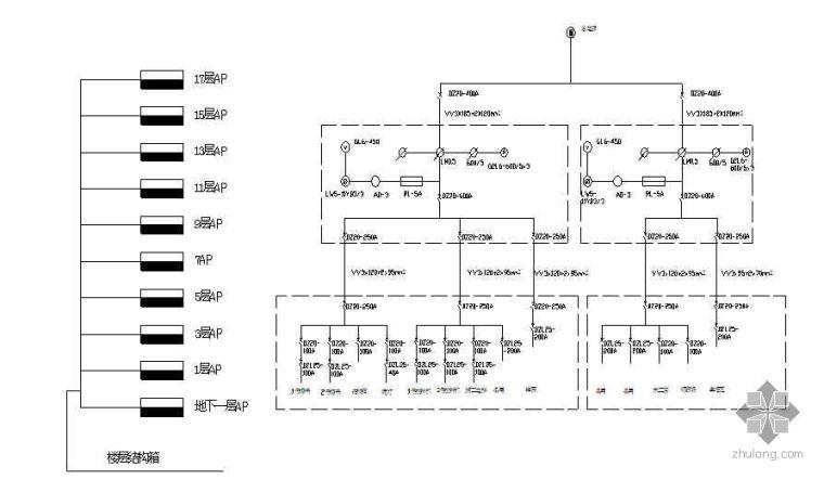 内蒙古某医院病房楼临时用电施工方案