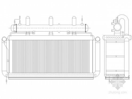 vrv与全热交换器图纸资料下载-[南京]热电厂换热器安装图纸
