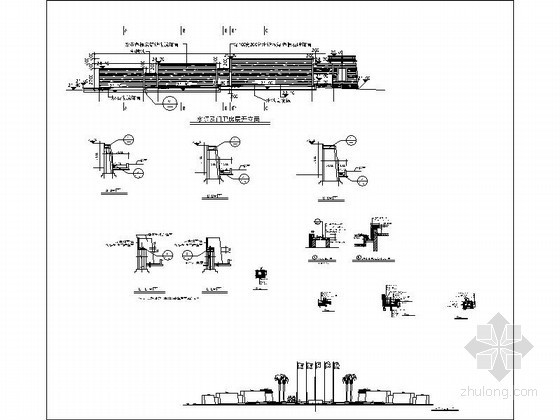 水景墙施工详图