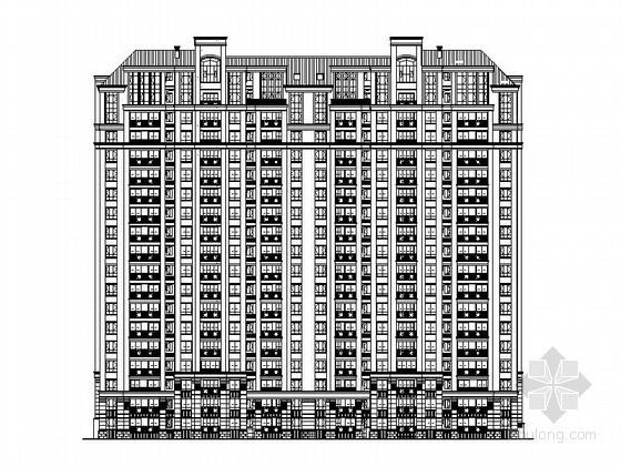 某十八层一梯三住宅楼建筑施工图