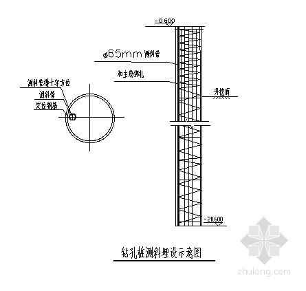[上海]高层商务楼深基坑开挖支护施工组织设计