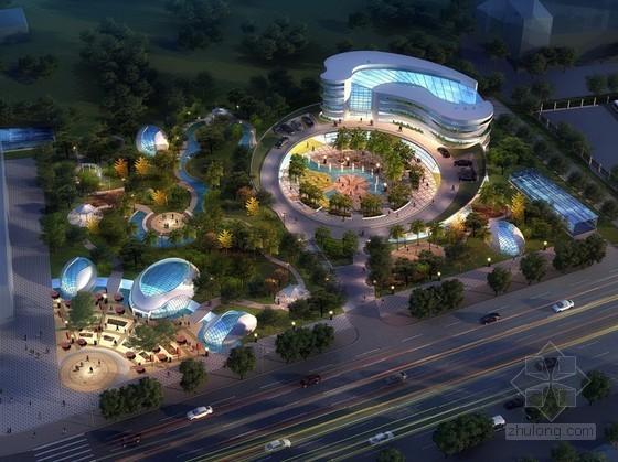 [武汉]某广场(停车场)设计方案文本