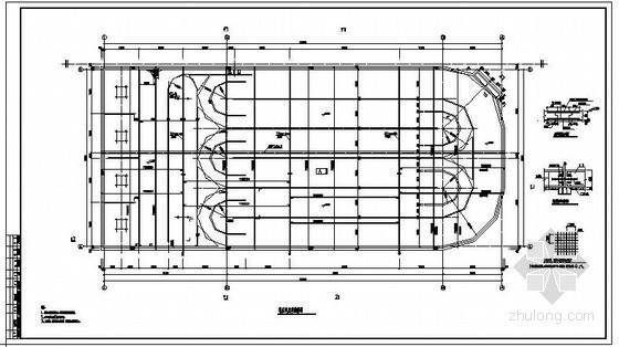 某大型氧化沟结构设计图
