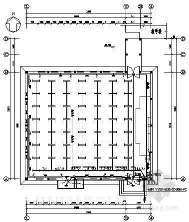 [荣成]某实验中学教学楼电气施工图纸