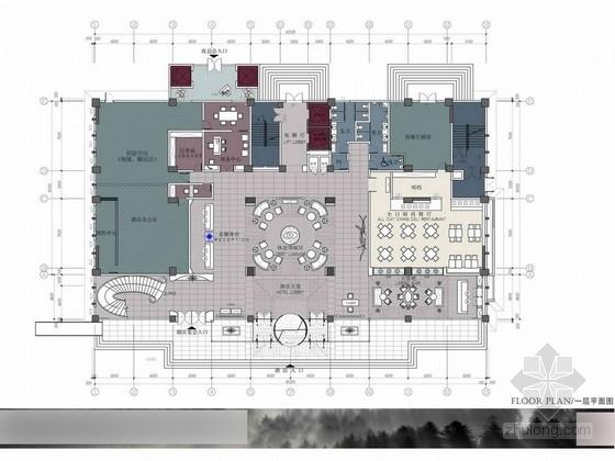 [河南]奢华五星级国际酒店设计方案