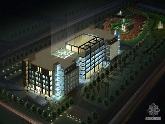 [邯郸市]某行政便民服务大厦中心设计方案(第一轮、第二轮)
