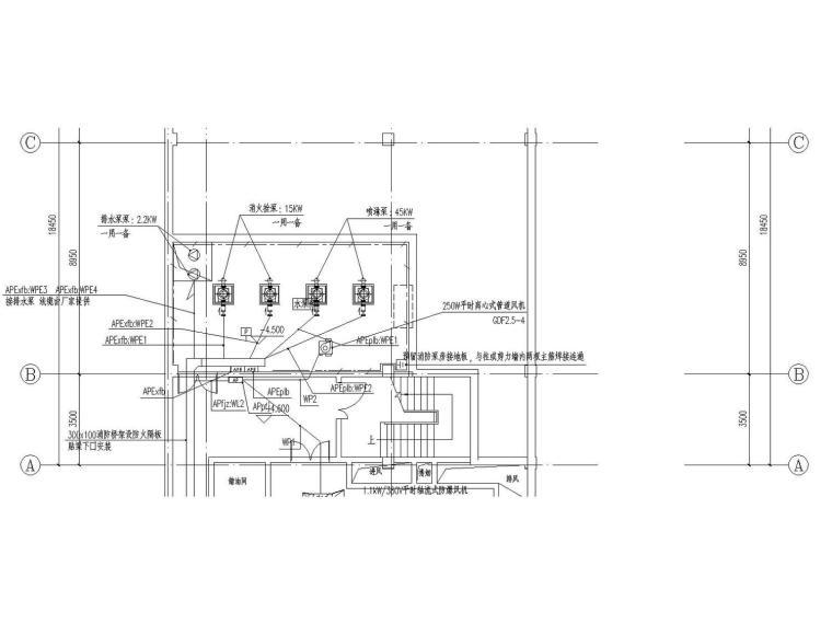 [成都]大型幼儿园全套电气施工图设计