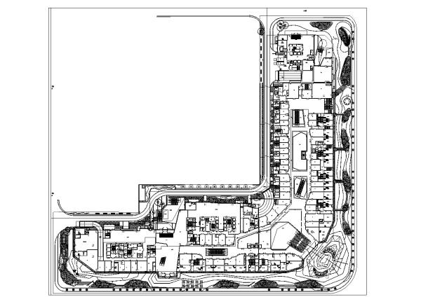 [北京]LEED金级预认证写字楼景观设计施工图(2016最新独家)