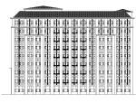 [深圳]高层框架结构护理医生活楼建筑施工图(含效果图)
