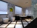 宽敞现代卫浴3D模型下载