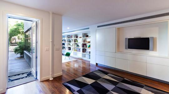 电视背景墙这样设计,从此爱上客厅