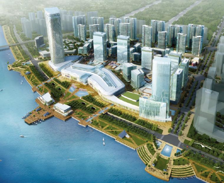[广东]清远某江北新城项目概念规划设计