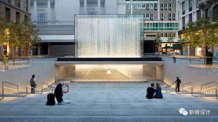 """苹果最新米兰旗舰店设计,被誉为""""欧洲最美苹果店"""""""