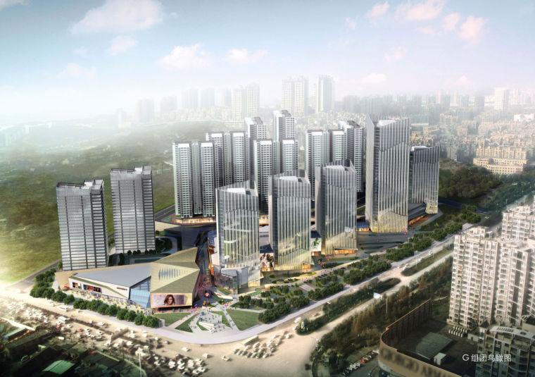 中建院中铁·逸都环球贸易中心建筑设计方案文本