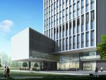 [广东]高层金融大厦项目建筑方案