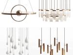 现代简约金属中型吊灯