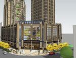 某大型商业建筑模型设计