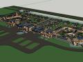 建筑模型设计(SU模型)