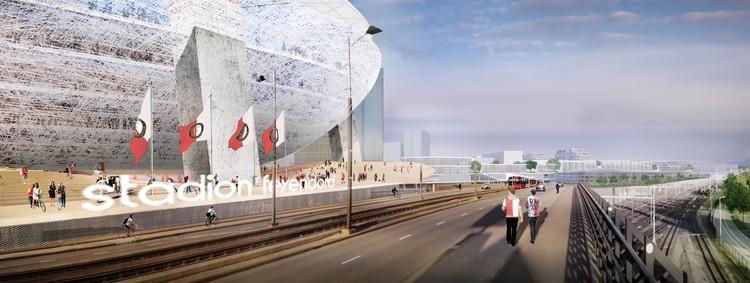 OMA新作:鹿特丹费耶诺德城市总体规划方案获批!