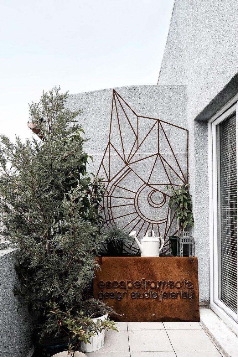 伊斯坦布尔:这间只有41平米的公寓却带来无限的生活美感_9