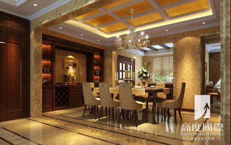 高度国际欧式奢华风格餐厅-高度国际欧式奢华风格案例第1张图片