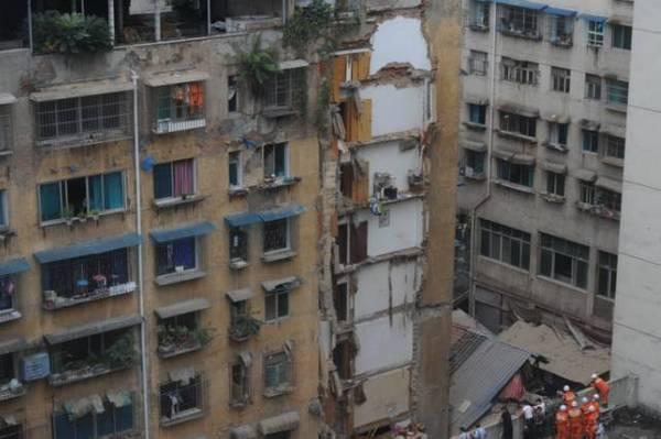 中国楼房为何频繁倒塌?耐久性至少50年怎么解释?_8