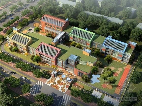 [合集]4套现代风格幼儿园建筑设计方案文本(含大中小型幼儿园)