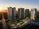 [广东]绿地中心住宅、商业、办公建筑设计方案文本(汇报ppt)