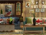 地中海风格客厅3D模型(二)