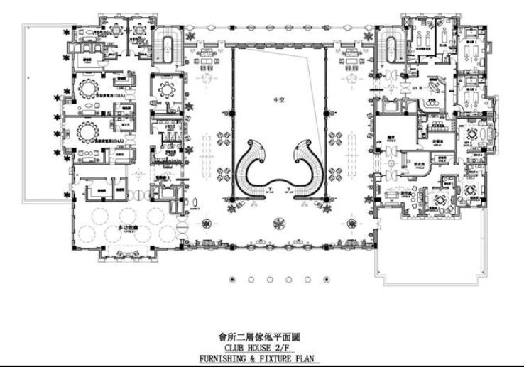 浙江亚厦--杭州萧山湘湖壹号会所施工图及实景图(80张)_2
