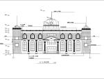 欧式多层度假村建筑设计方案(施工图CAD)