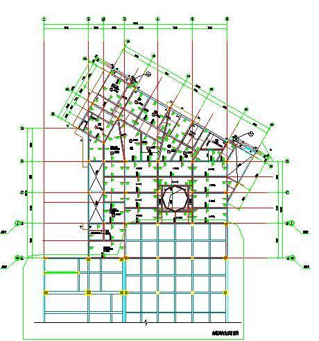 二层量平法施工图