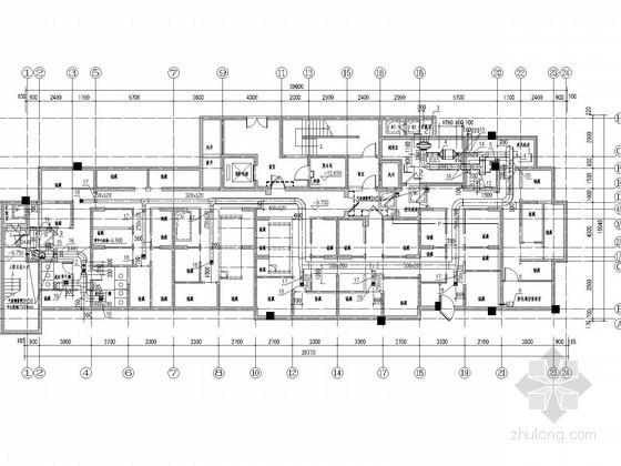 [河北]高层住宅建筑通风防排烟系统设计施工图(供暖设计)