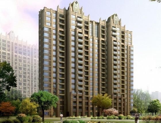 19层框架结构住宅楼建筑安装工程造价指标分析(含地下室)