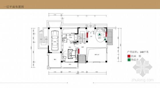 [广州]现代舒适高端新古典三层别墅陈设意向方案