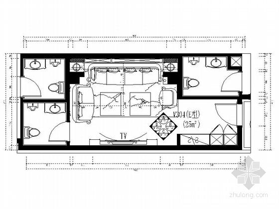 [福建]豪华国际音乐会所包厢装修图(含效果)