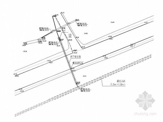 [湖南]抗旱渠道水系施工图