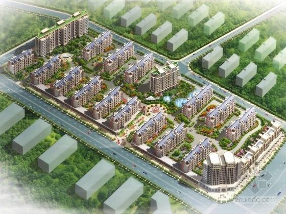 [江西]英伦风多层及高层住宅区规划设计方案文本(含CAD 多种经典户型)