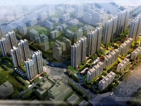 [郑州]欧式风格住宅区规划及单体设计方案文本(含CAD ppt)